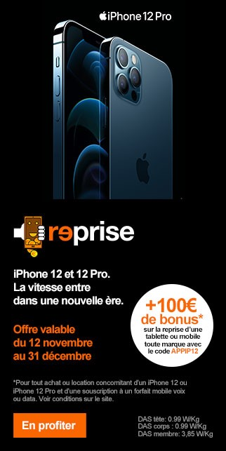 Bonus APPLE iPhone 12 et 12 Pro