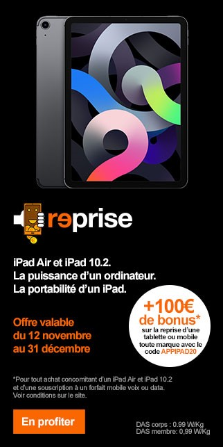 Bonus APPLE iPad 2020