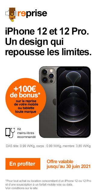 Bonus IPHONE 12 & IPHONE 12 PRO