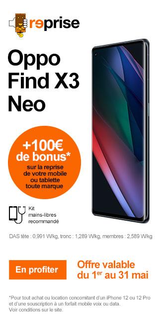 Bonus OPPO FIND X3 NEO