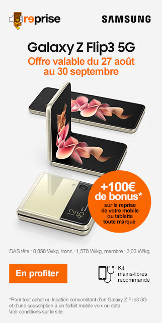 Bonus SAMSUNG Galaxy Flip3 5G
