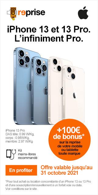 Bonus IPHONE 13 & IPHONE 13 PRO