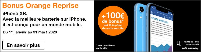 Bonus APPLE iPhone XR
