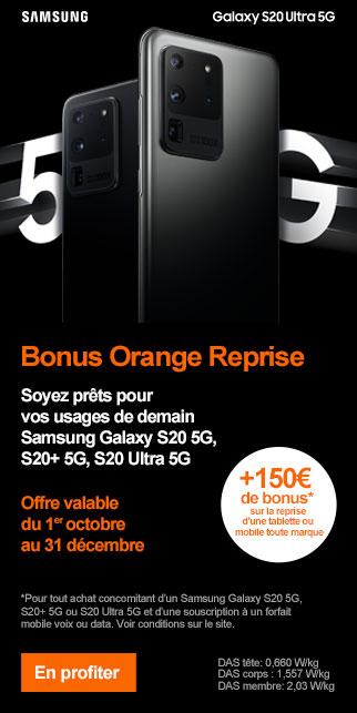 Bonus SAMSUNG S20 5G