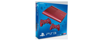 Sony Playstation 3 super slim 12go rouge grenat