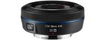 Samsung NX 20 mm F 2.8 43 mm Objectif (adapté à samsung NX) noir