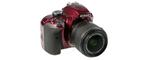 Nikon D3300 SLR-Digitale camera rouge