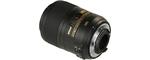 Nikon AF-S Micro 85 mm 3.5 G ED DX VR 52 mm Objectif (adapté à nikon F) noir
