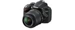 Nikon D3200 noir