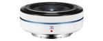 Samsung NX 30 mm F 2.0 43 mm Objectif (adapté à samsung NX) blanc