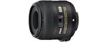 Nikon AF-S DX Nikkor 40 mm F 2.8 G 52 mm Objectif (adapté à nikon F) noir