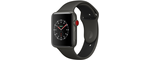 Apple Watch Series 3 38mm Boîtier Aluminium GPS+4G