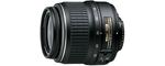 Nikon AF-S DX NIKKOR 18-55mm f3.5-5.6 G ED II 52 mm Objectif (adapté à nikon F) noir