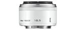 Nikon 1-Mount 18,5 mm 1:1,8 40,5 mm Objectif (adapté à nikon 1) blanc