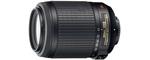 Nikon AF-S 55-200 mm 4.0-5.6 VR DX G IF ED 52mm Objectif (adapté à nikon F) noir