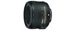 Nikon AF-S Nikkor 50 mm F 1.8 G 58 mm Objectif (adapté à nikon F) noir