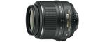 Nikon AF-S DX Nikkor 18 mm - 55 mm 3.5-5. 6G VR 52 mm objectif (adapté à nikon F)