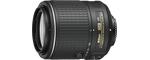 Nikon AF-S DX Nikkor 55-200 mm 1:4-5,6G ED 52 mm objectif (adapté à nikon F)